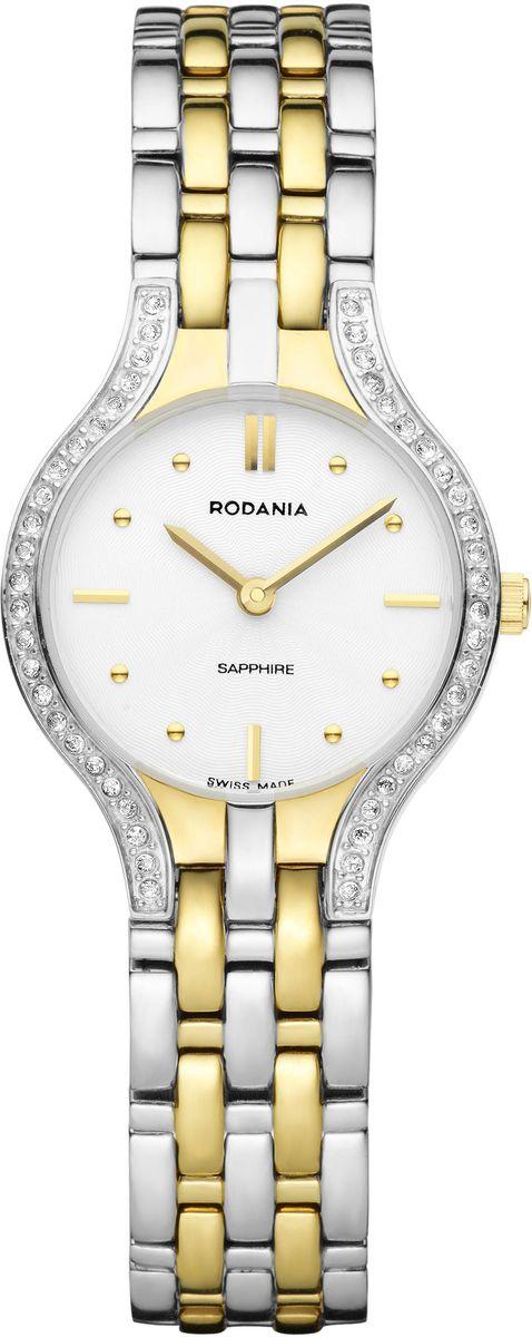 Наручные часы женские Rodania, цвет: серый металлик, серый. 25133802513380Оригинальные и качественные часы Rodania
