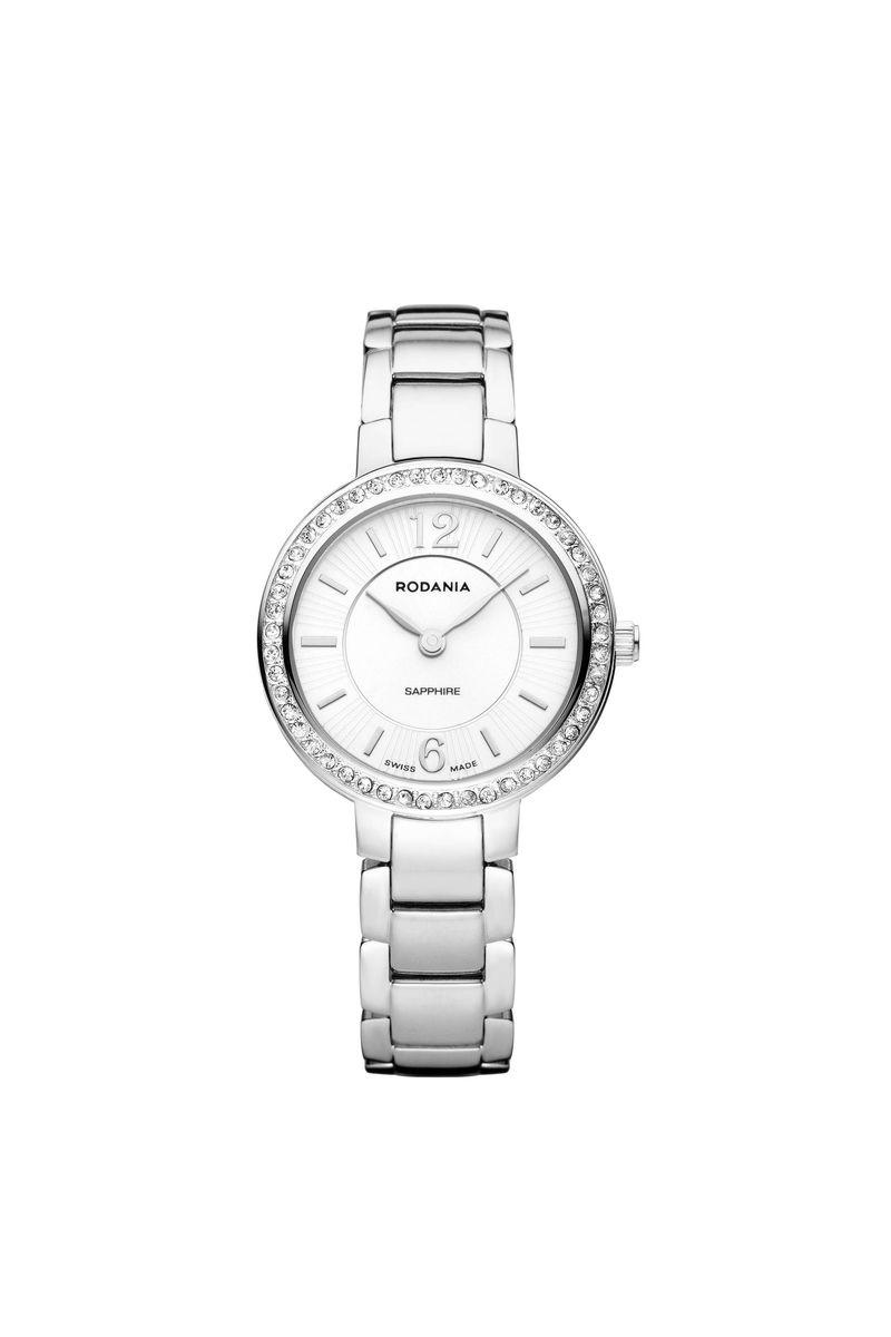 Наручные часы женские Rodania, цвет: серый металлик, серый. 25129402512940Оригинальные и качественные часы Rodania