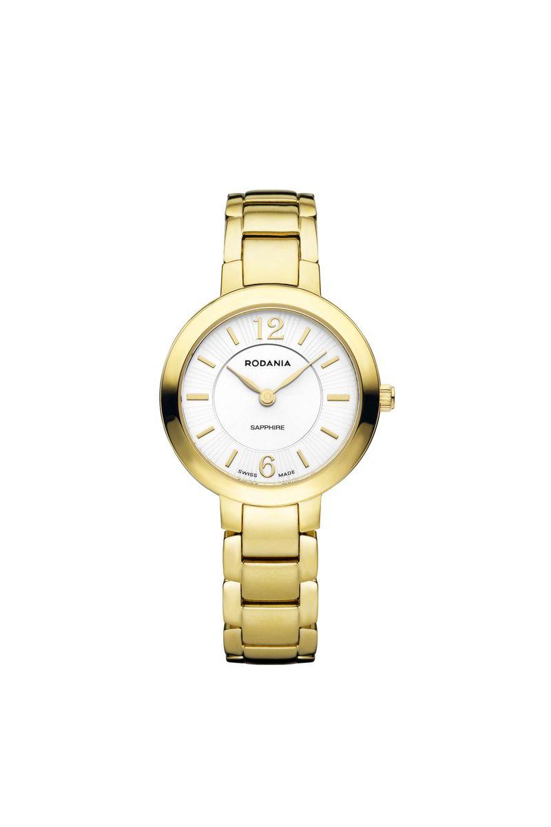 Наручные часы женские Rodania, цвет: золотистый. 25130602513060Оригинальные и качественные часы Rodania