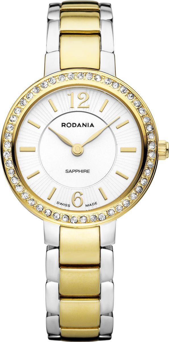 Наручные часы женские Rodania, цвет: золотистый. 25129802512980Оригинальные и качественные часы Rodania