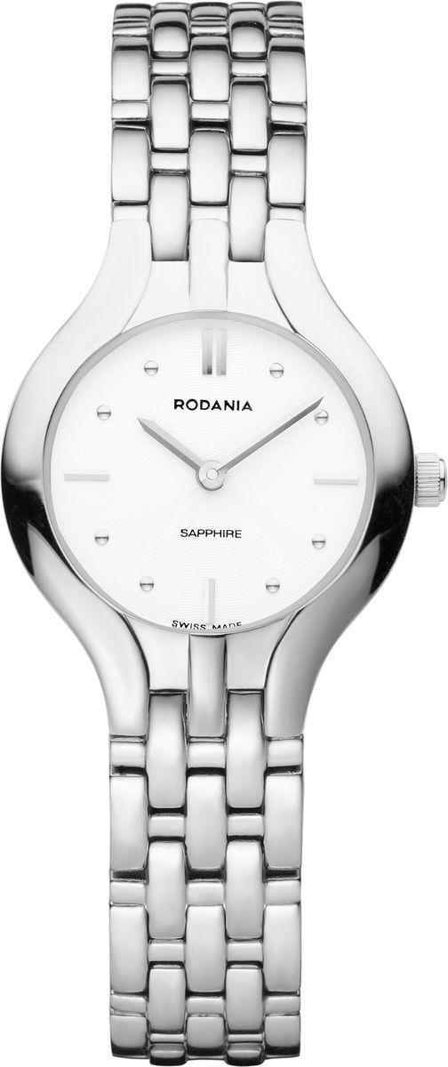 Наручные часы женские Rodania, цвет: серый металлик, серый. 25134402513440Оригинальные и качественные часы Rodania