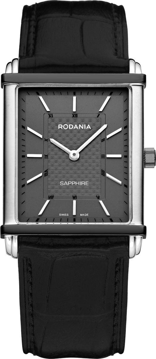 Наручные часы мужские Rodania, цвет: серый металлик, черный. 25135272513527Оригинальные и качественные часы Rodania