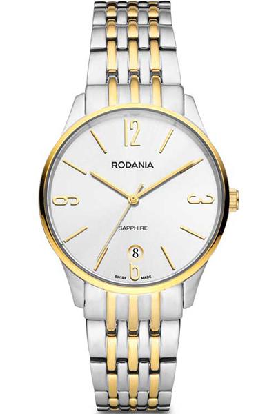 Наручные часы мужские Rodania, цвет: золотистый, серый. 25142802514280Оригинальные и качественные часы Rodania