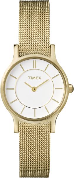 Наручные часы женские Timex, цвет: золотистый. T2P168T2P168Оригинальные и качественные часы Timex