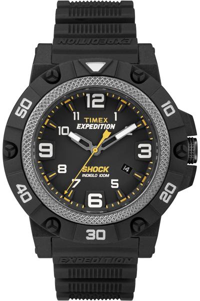 Наручные часы мужские Timex, цвет: черный. TW4B01000