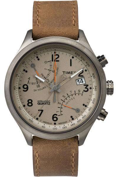 Наручные часы мужские Timex, цвет: серый металлик, коричневый. TW2P78900TW2P78900Оригинальные и качественные часы Timex