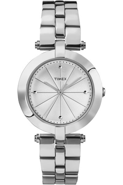 Наручные часы женские Timex, цвет: серый металлик, серый. TW2P79100TW2P79100Оригинальные и качественные часы Timex