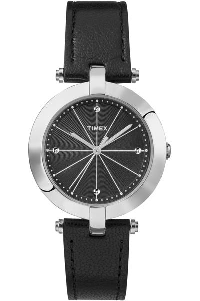 Наручные часы женские Timex, цвет: серый металлик, черный. TW2P79300TW2P79300Оригинальные и качественные часы Timex