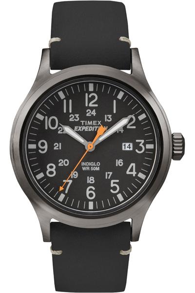 Наручные часы мужские Timex, цвет: серый металлик, черный. TW4B01900
