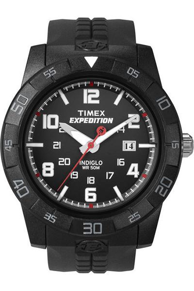 Наручные часы мужские Timex, цвет: черный. T49831