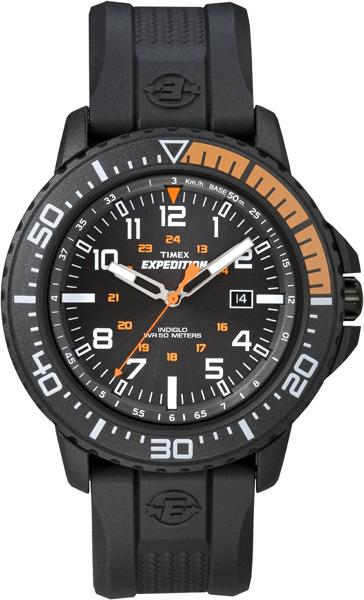 Наручные часы мужские Timex, цвет: черный. T49940