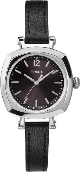 Наручные часы женские Timex, цвет: серый металлик, черный. TW2P70900TW2P70900Оригинальные и качественные часы Timex