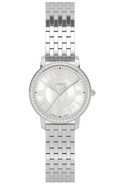 Наручные часы женские Timex, цвет: серый металлик, серый. TW2P80500TW2P80500Оригинальные и качественные часы Timex