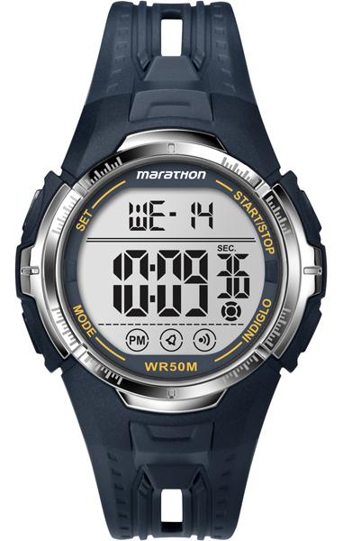 Наручные часы мужские Timex, цвет: серый, синий. T5K804T5K804Оригинальные и качественные часы Timex