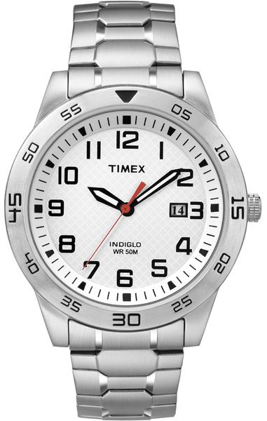 Наручные часы мужские Timex, цвет: серый металлик, серый. TW2P61400TW2P61400Оригинальные и качественные часы Timex