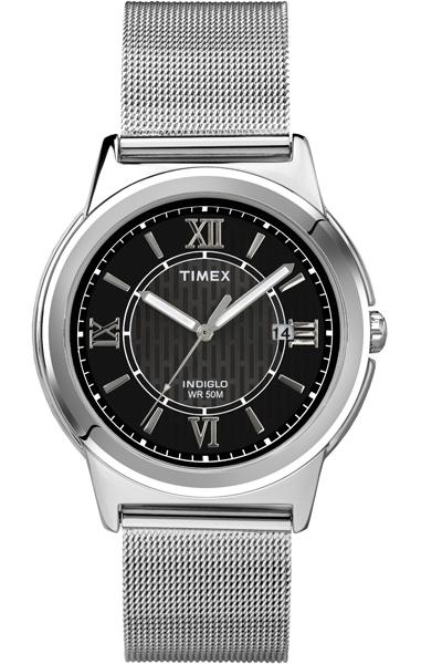 Наручные часы женские Timex, цвет: серый металлик, серый. T2P519T2P519Оригинальные и качественные часы Timex