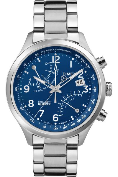 Наручные часы мужские Timex, цвет: серый металлик, серый. TW2P60600TW2P60600Оригинальные и качественные часы Timex