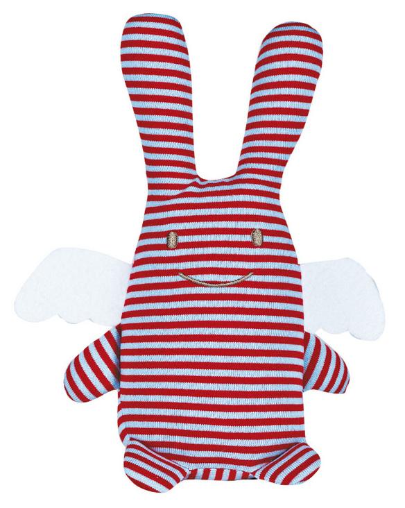 Trousselier Мягкая игрушка Зайка с крылышками цвет в полоску 18 смV1081 97