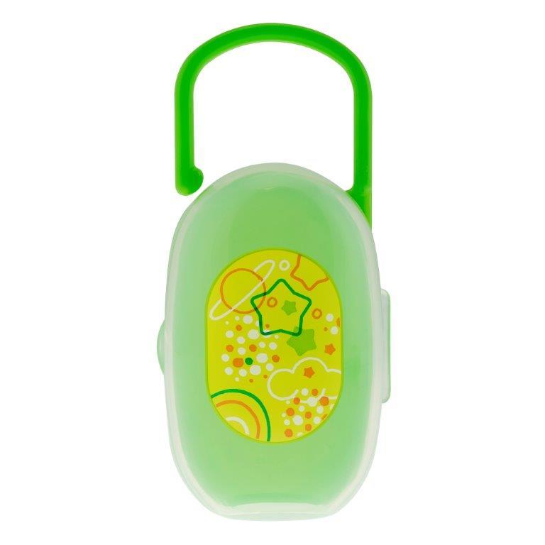 Chicco Футляр с ручкой для пустышки от 0 месяцев6985000000Крепится к сумке,коляске, бортику кровати