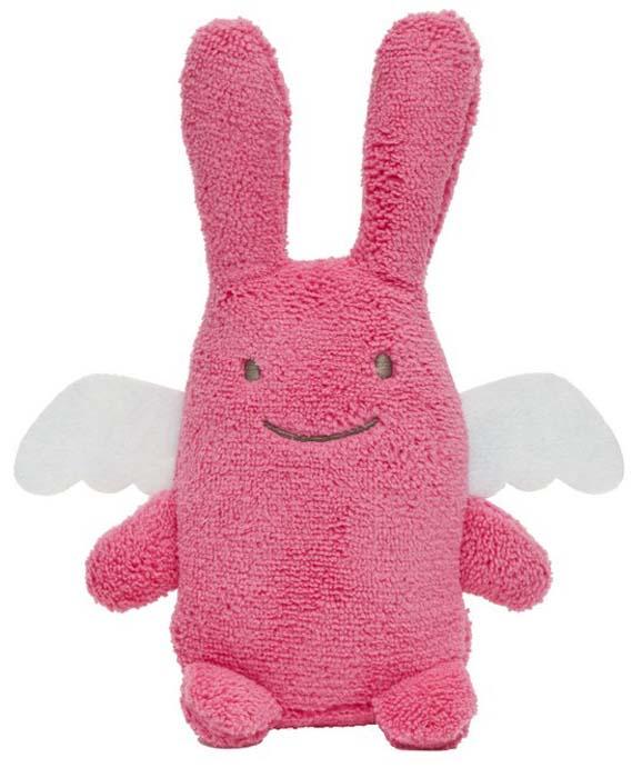 Trousselier Мягкая игрушка Зайка с крылышками цвет фуксия 18 смV1081 11