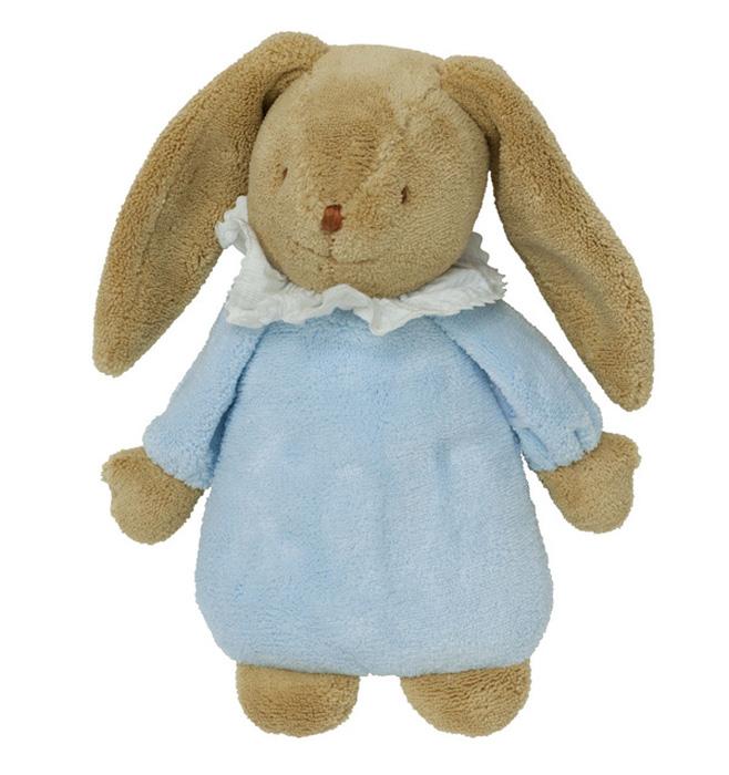 Trousselier Мягкая игрушка Зайка с музыкой цвет голубой 25 смVM791 70