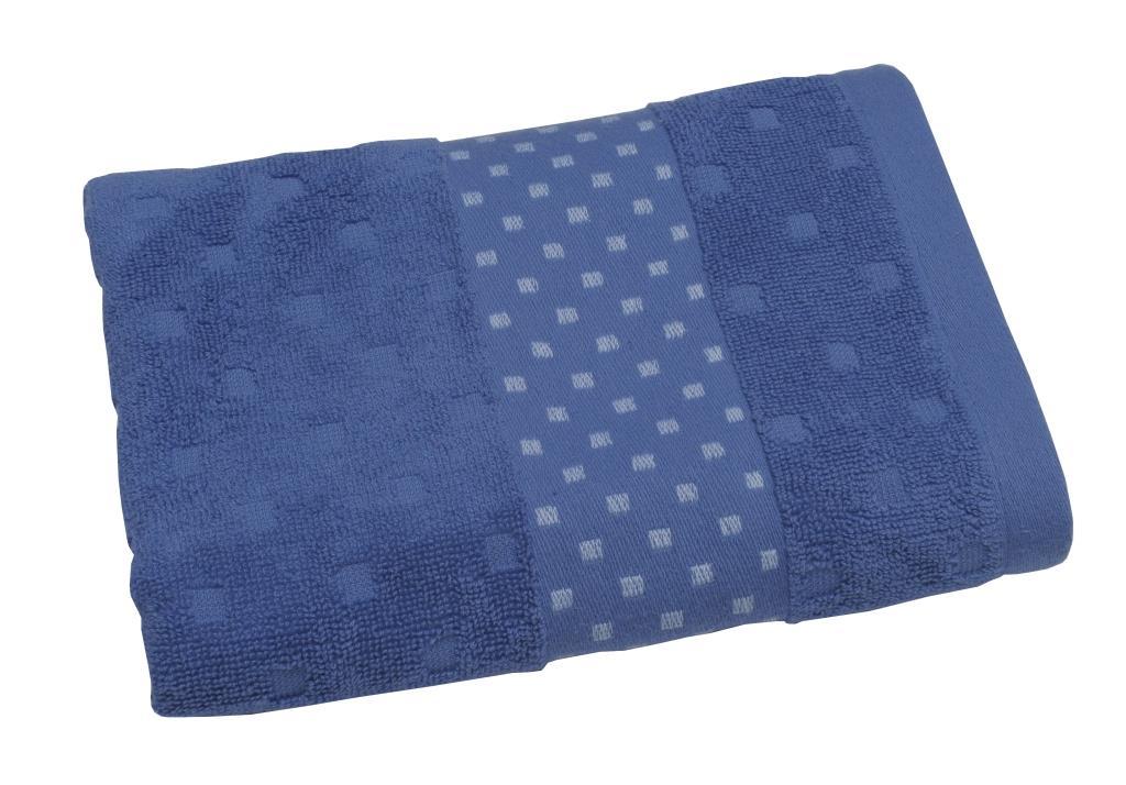Полотенце махровое Toalla Кеннет, цвет: синий, 50 x 90 см00000000037Махровое полотенце Кеннет 50х90 см см. Продукция высокого качества, сделана из натурального материала, 100% хлопок, прекрасно впитывает влагу.