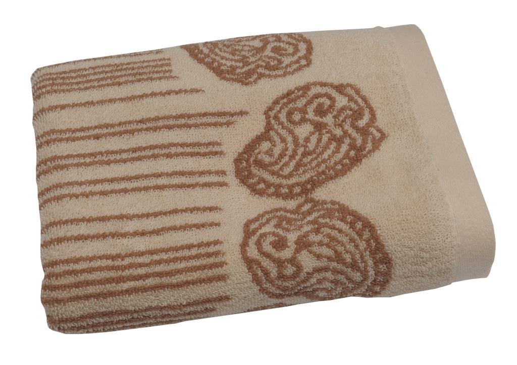Полотенце махровое Toalla Аква, цвет: песочный, 70 x 140 см00000000040Махровое полотенце Аква 70х140 см. Продукция высокого качества, сделана из натурального материала, 100% хлопок, прекрасно впитывает влагу.