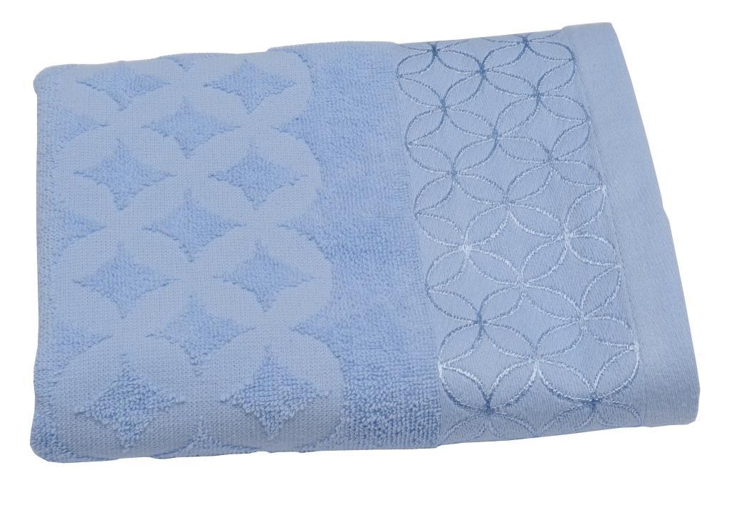 Махровое полотенце Toalla Кэролл, цвет: голубой, 50 x 90 см00000000066Махровое полотенце Toalla. Продукция высокого качества, сделана из натурального материала, 100% хлопок, прекрасно впитывает влагу.