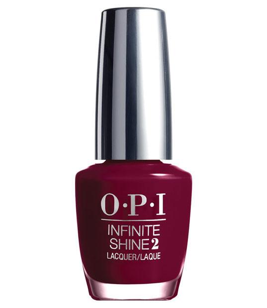 """OPI Infinite Shine Лак для ногтей Cant Be Beet!, 15 млISL13""""Линия Infinite Shine была разработана в ответ на желание покупателей получить лаковые покрытия, по свойствам не уступающие гелевым, которые при этом имели бы самые модные оттенки, обладали уникальной формулой и носили культовые имена, которыми так знаменита компания OPI,"""" - объясняет Сюзи Вайс-Фишманн, соучредитель и исполнительный вице-президент OPI. """"Покрытие Infinite Shine наносится и снимается точно так же, как и обычные лаки для ногтей, однако вы получаете те самые блеск и стойкость, которые отличают гелевую формулу!"""" Палитра Infinite Shine включает в себя широкий спектр оттенков, от нейтральных до ярко-красных, оранжевых, розовых, а далее до темно-серых, синих и черного. Лаки Infinite Shine имеют запатентованную формулу. Каждый флакон снабжен эксклюзивной кистью ProWide™ для идеального нанесения."""