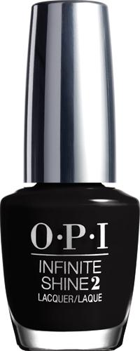 """OPI Infinite Shine Лак для ногтей Were in the BlackIS, 15 млISL15""""Линия Infinite Shine была разработана в ответ на желание покупателей получить лаковые покрытия, по свойствам не уступающие гелевым, которые при этом имели бы самые модные оттенки, обладали уникальной формулой и носили культовые имена, которыми так знаменита компания OPI,"""" - объясняет Сюзи Вайс-Фишманн, соучредитель и исполнительный вице-президент OPI. """"Покрытие Infinite Shine наносится и снимается точно так же, как и обычные лаки для ногтей, однако вы получаете те самые блеск и стойкость, которые отличают гелевую формулу!"""" Палитра Infinite Shine включает в себя широкий спектр оттенков, от нейтральных до ярко-красных, оранжевых, розовых, а далее до темно-серых, синих и черного. Лаки Infinite Shine имеют запатентованную формулу. Каждый флакон снабжен эксклюзивной кистью ProWide™ для идеального нанесения."""