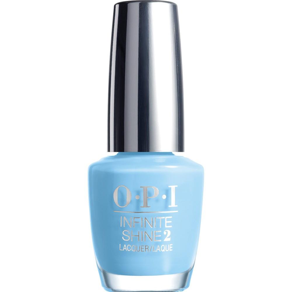 """OPI Infinite Shine Лак для ногтей To Infinity & Blue-yond, 15 млISL18""""Линия Infinite Shine была разработана в ответ на желание покупателей получить лаковые покрытия, по свойствам не уступающие гелевым, которые при этом имели бы самые модные оттенки, обладали уникальной формулой и носили культовые имена, которыми так знаменита компания OPI,"""" - объясняет Сюзи Вайс-Фишманн, соучредитель и исполнительный вице-президент OPI. """"Покрытие Infinite Shine наносится и снимается точно так же, как и обычные лаки для ногтей, однако вы получаете те самые блеск и стойкость, которые отличают гелевую формулу!"""" Палитра Infinite Shine включает в себя широкий спектр оттенков, от нейтральных до ярко-красных, оранжевых, розовых, а далее до темно-серых, синих и черного. Лаки Infinite Shine имеют запатентованную формулу. Каждый флакон снабжен эксклюзивной кистью ProWide™ для идеального нанесения."""