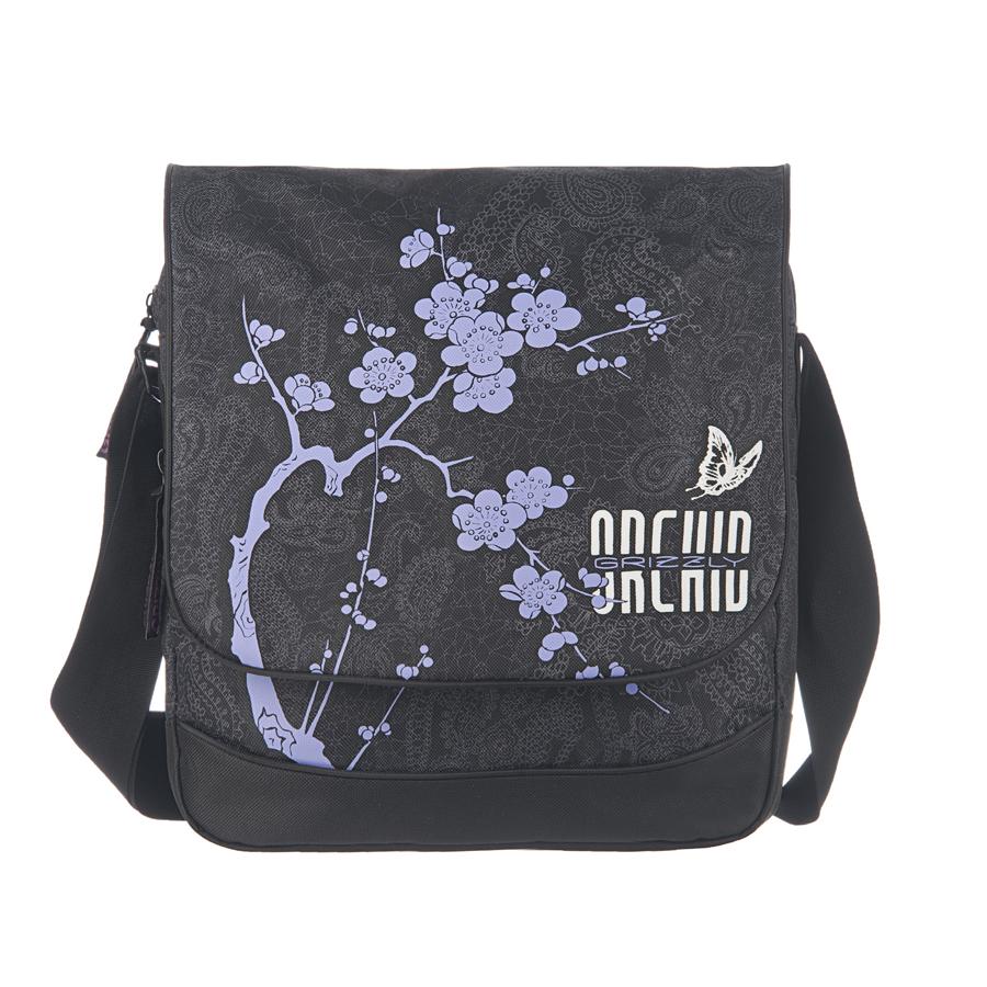 Сумка молодежная Grizzly, цвет: черный, 15 л. MD-659-2/1MD-659-2/1Молодежная сумка, два отделения, клапан на липучках, два передних кармана, задний карман на молнии, внутренний карман на молнии, регулируемый плечевой ремень