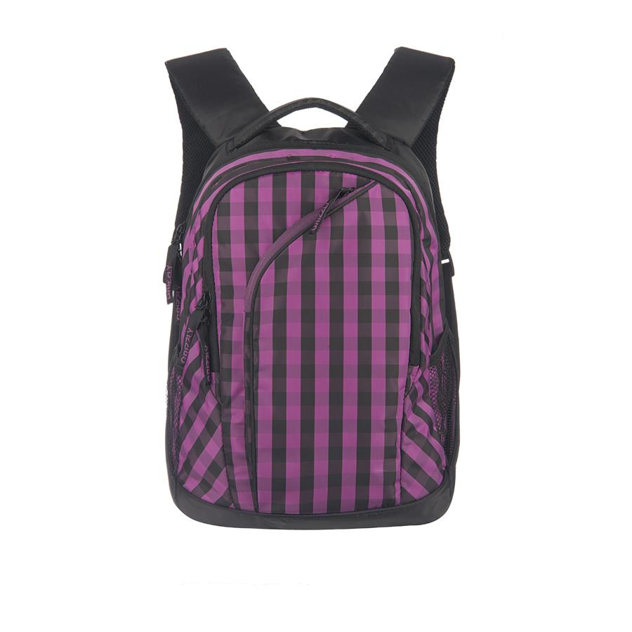 Рюкзак городской Grizzly, цвет: черный, 28 л. RD-640-2/2RD-640-2/2Рюкзак молодежный, два отделения, карман на молнии на передней стенке, боковые карманы из сетки, внутренний карман на молнии, внутренний составной пенал-органайзер, укрепленная спинка, мягкая укрепленная ручка, укрепленные лямки