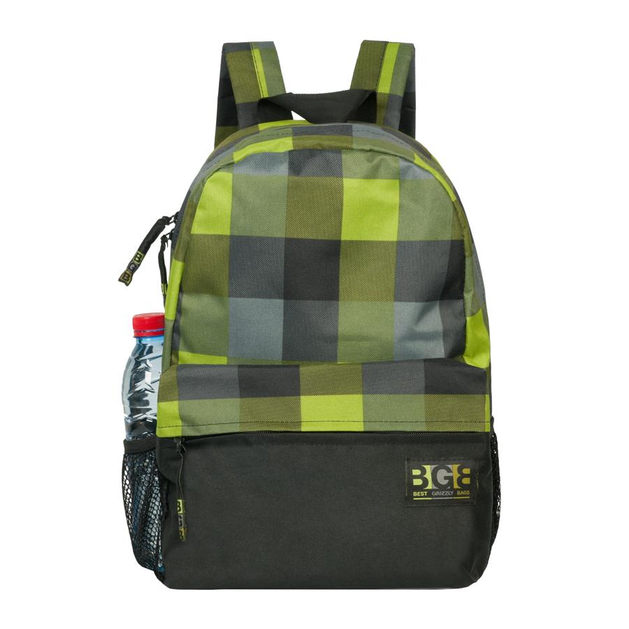 Рюкзак городской Grizzly, цвет: салатовый, 24 л. RD-644-1/1RD-644-1/1Рюкзак молодежный, одно отделение, объемный карман на молнии на передней стенке, боковые карманы из сетки, внутренний карман, укрепленная спинка, карман быстрого доступа на задней стенке, дополнительная ручка-петля, укрепленные лямки