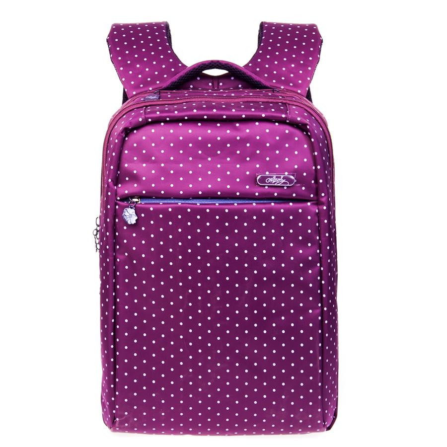 Рюкзак городской Grizzly, цвет: фиолетовый, 20 л, 21 л. RD-649-1/3RD-649-1/3Рюкзак молодежный, два отделения, карман на молнии на передней стенке, боковые карманы из сетки, внутренний карман на молнии, внутренний карман-пенал для карандашей, внутренний укрепленный карман для ноутбука, укрепленная спинка, карман быстрого доступа в верхней части рюкзака, мягкая укрепленная ручка, нагрудная стяжка-фиксатор, укрепленные лямки