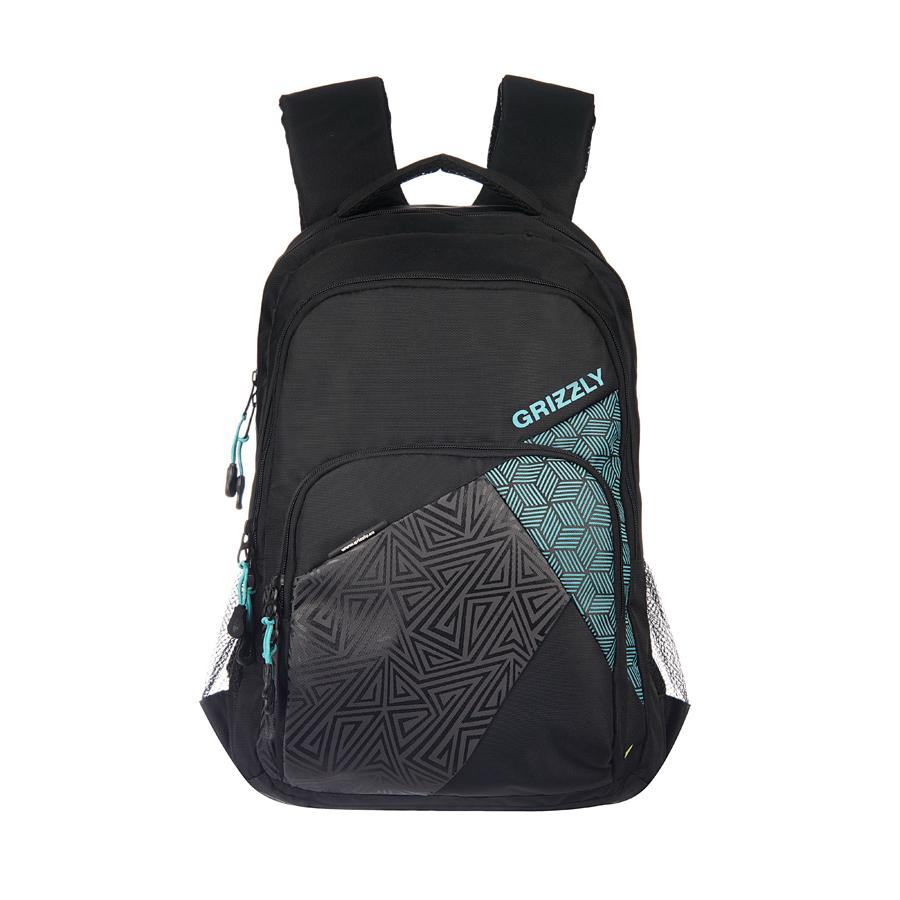 Рюкзак городской Grizzly, цвет: бирюза, 28 л. RU-607-1/1RU-607-1/1Рюкзак молодежный, два отделения, объемный карман на молнии на передней стенке, боковые карманы из сетки, внутренний подвесной карман на молнии, внутренний составной пенал-органайзер, ортопедическая спинка, дополнительная ручка-петля, мягкая укрепленная ручка, нагрудная стяжка-фиксатор, укрепленные лямки