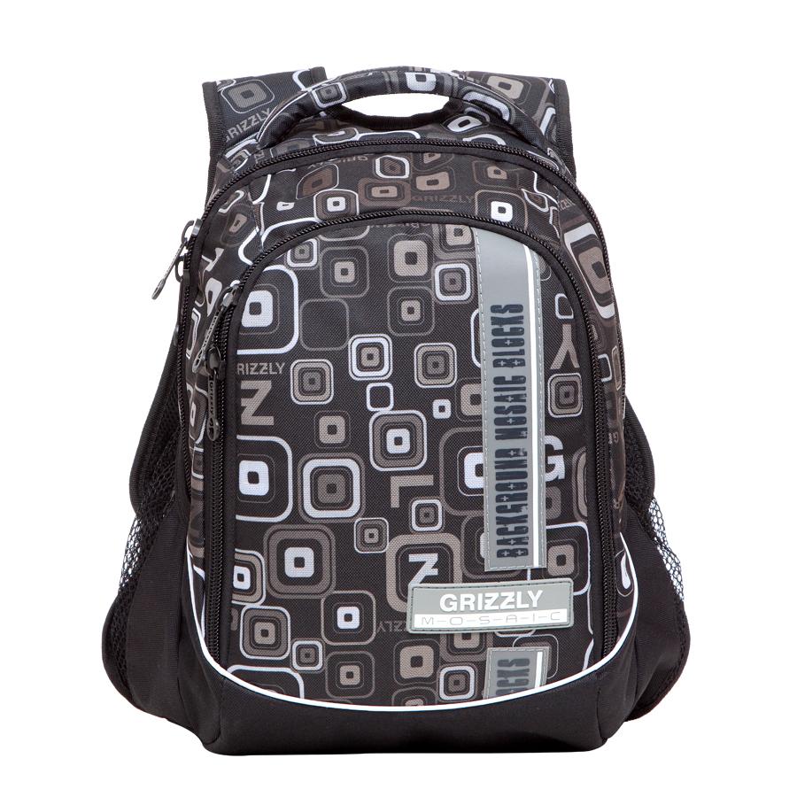 Рюкзак городской Grizzly, цвет: серый , 27 л. RU-610-2/7RU-610-2/7Рюкзак молодежный, два отделения, боковые карманы из сетки, внутренний карман на молнии, внутренний карман-пенал для карандашей, жесткая ортопедическая спинка, мягкая укрепленная ручка, укрепленные лямки