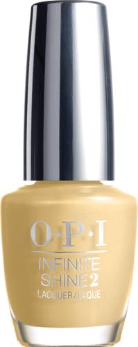 """OPI Infinite Shine Лак для ногтей Enter the Golden Era, 15 млISL37""""Линия Infinite Shine была разработана в ответ на желание покупателей получить лаковые покрытия, по свойствам не уступающие гелевым, которые при этом имели бы самые модные оттенки, обладали уникальной формулой и носили культовые имена, которыми так знаменита компания OPI,"""" - объясняет Сюзи Вайс-Фишманн, соучредитель и исполнительный вице-президент OPI. """"Покрытие Infinite Shine наносится и снимается точно так же, как и обычные лаки для ногтей, однако вы получаете те самые блеск и стойкость, которые отличают гелевую формулу!"""" Палитра Infinite Shine включает в себя широкий спектр оттенков, от нейтральных до ярко-красных, оранжевых, розовых, а далее до темно-серых, синих и черного. Лаки Infinite Shine имеют запатентованную формулу. Каждый флакон снабжен эксклюзивной кистью ProWide™ для идеального нанесения."""