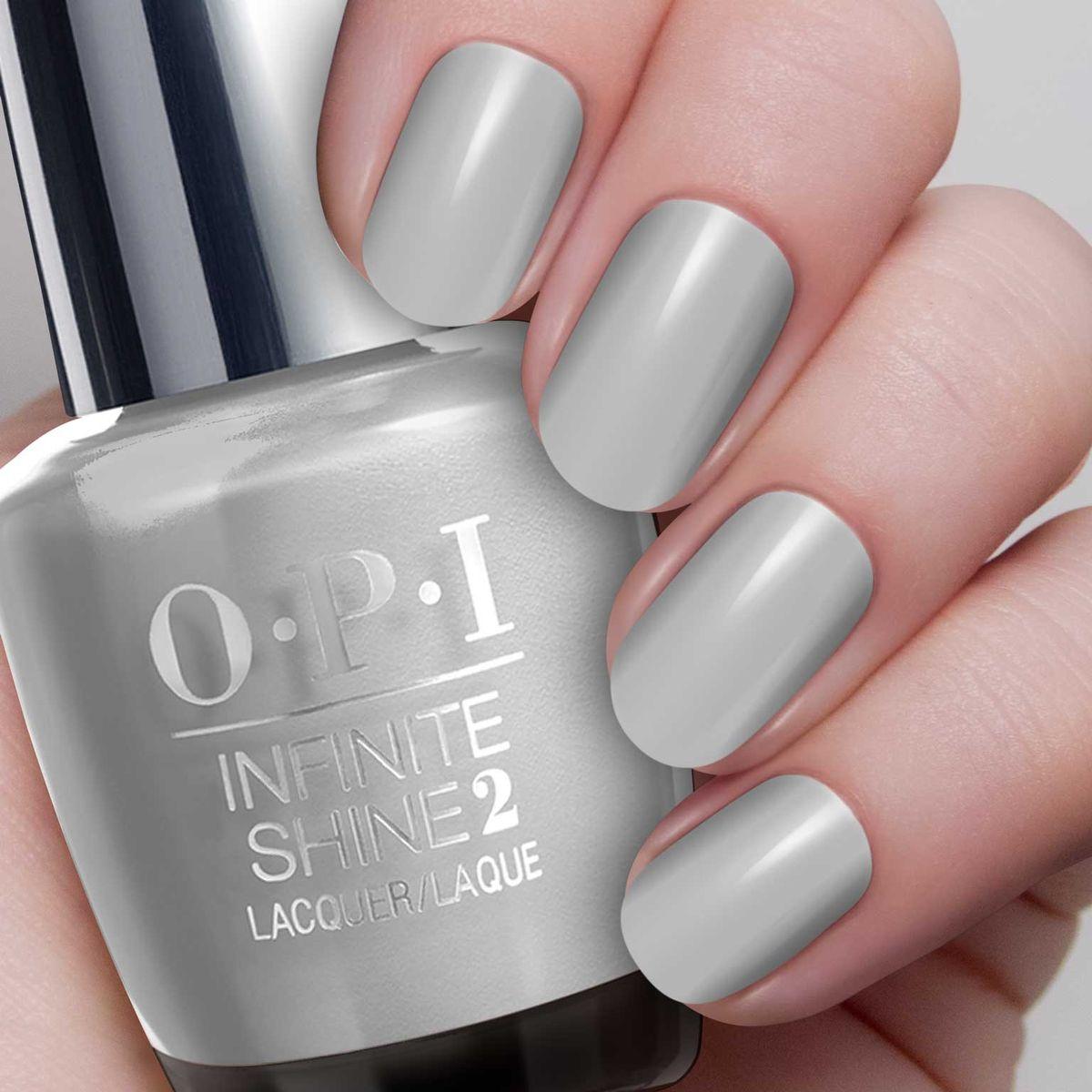 OPI Infinite Shine Лак для ногтей Silver on Ice, 15 мл