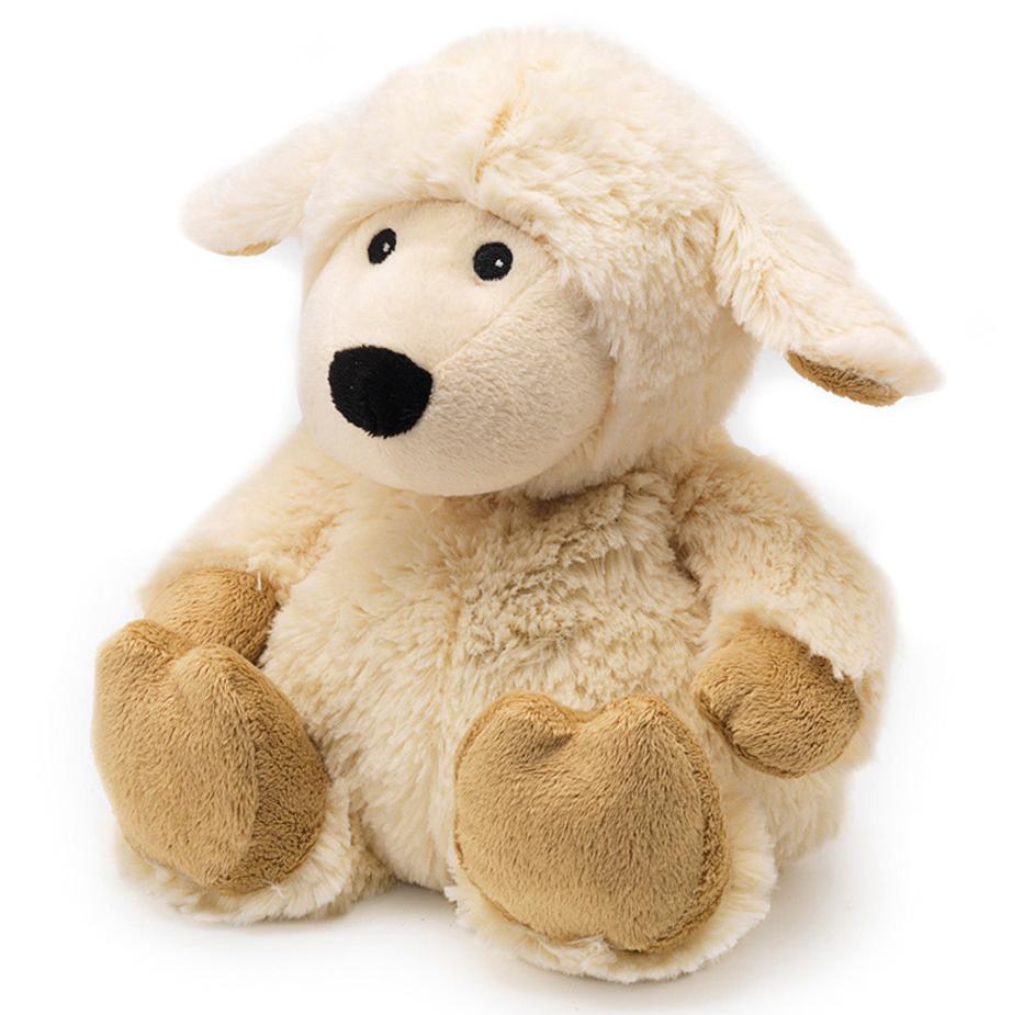 Warmies Мягкая игрушка-грелка Овечка цвет молочныйCP-SHE-1Мягкая игрушка-грелка Warmies Овечка, предназначенная для тепловых процедур, обязательно поднимет настроение своему обладателю. Грелка, выполненная из хлопка и полиэстера в виде симпатичной мягкой овечки, привлечет внимание не только ребенка, но и взрослого, и сделает процесс использования грелки приятным и комфортным. Игрушка полностью безопасна - состоит из натурального наполнителя: зерен проса и сушеной лаванды. Просо удерживает тепло долгое время, а лаванда обладает успокаивающим, расслабляющим эффектом, помогает заснуть. Лечебные свойства лаванды помогают при простудных заболеваниях. Положите игрушку на 1-2 минуты в микроволновую печь, и она будет греть вас на протяжении 3-4 часов. Оригинальный стиль и великолепное качество исполнения делают эту игрушку-грелку чудесным подарком к любому празднику. Не стирать - специальный шелковый мех легко очищается влажной тряпкой. Наполнитель: обработанные зерна проса, высушенная лаванда. ...