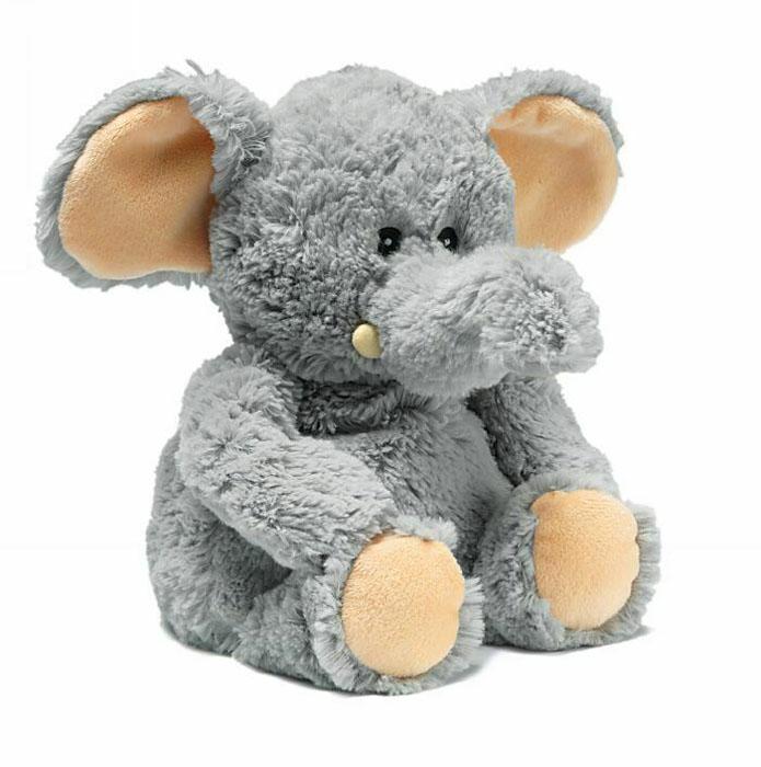 Warmies Мягкая игрушка-грелка Слоник цвет серыйCP-ELE-1Мягкая игрушка-грелка Warmies Слоник, предназначенная для тепловых процедур, обязательно поднимет настроение своему обладателю. Грелка, выполненная из хлопка и полиэстера в виде симпатичного мягкого слоника, привлечет внимание не только ребенка, но и взрослого, и сделает процесс использования грелки приятным и комфортным. Игрушка полностью безопасна - состоит из натурального наполнителя: зерен проса и сушеной лаванды. Просо удерживает тепло долгое время, а лаванда обладает успокаивающим, расслабляющим эффектом, помогает заснуть. Лечебные свойства лаванды помогают при простудных заболеваниях. Положите игрушку на 1-2 минуты в микроволновую печь, и она будет греть вас на протяжении 3-4 часов. Оригинальный стиль и великолепное качество исполнения делают эту игрушку-грелку чудесным подарком к любому празднику. Не стирать - специальный шелковый мех легко очищается влажной тряпкой. Наполнитель: обработанные зерна проса, высушенная лаванда. ...