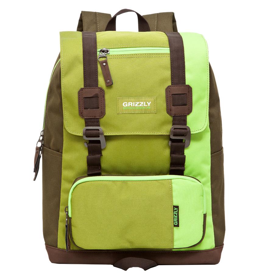 Рюкзак городской Grizzly, цвет: салатовый, 23 л. RU-619-2/2RU-619-2/2Рюкзак молодежный, одно отделение, клапан на застежках, объемный карман на молнии на передней стенке, боковой карман , внутренний карман на молнии, внутренний укрепленный карман для ноутбука, укрепленная спинка, карман быстрого доступа в передней части рюкзака, карман быстрого доступа на задней стенке, дополнительная ручка-петля, укрепленные лямки