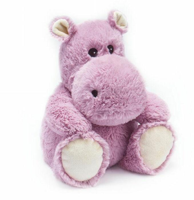 Warmies Мягкая игрушка-грелка Бегемотик цвет фиолетовыйCP-HIP-1Мягкая игрушка-грелка Warmies Бегемотик, предназначенная для тепловых процедур, обязательно поднимет настроение своему обладателю. Грелка, выполненная из хлопка и полиэстера в виде симпатичного мягкого бегемотика, привлечет внимание не только ребенка, но и взрослого, и сделает процесс использования грелки приятным и комфортным. Игрушка полностью безопасна - состоит из натурального наполнителя: зерен проса и сушеной лаванды. Просо удерживает тепло долгое время, а лаванда обладает успокаивающим, расслабляющим эффектом, помогает заснуть. Лечебные свойства лаванды помогают при простудных заболеваниях. Положите игрушку на 1-2 минуты в микроволновую печь, и она будет греть вас на протяжении 3-4 часов. Оригинальный стиль и великолепное качество исполнения делают эту игрушку-грелку чудесным подарком к любому празднику. Не стирать - специальный шелковый мех легко очищается влажной тряпкой. Наполнитель: обработанные зерна проса, высушенная...