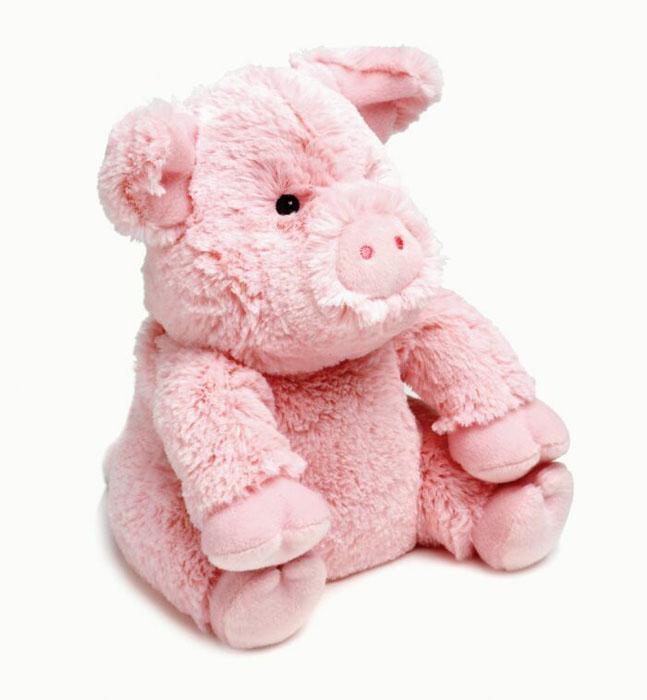 Warmies Мягкая игрушка-грелка Поросенок цвет розовыйCP-PIG-1Мягкая игрушка-грелка Warmies Поросенок, предназначенная для тепловых процедур, обязательно поднимет настроение своему обладателю. Грелка, выполненная из хлопка и полиэстера в виде симпатичного мягкого поросенка, привлечет внимание не только ребенка, но и взрослого, и сделает процесс использования грелки приятным и комфортным. Игрушка полностью безопасна - состоит из натурального наполнителя: зерен проса и сушеной лаванды. Просо удерживает тепло долгое время, а лаванда обладает успокаивающим, расслабляющим эффектом, помогает заснуть. Лечебные свойства лаванды помогают при простудных заболеваниях. Положите игрушку на 1-2 минуты в микроволновую печь, и она будет греть вас на протяжении 3-4 часов. Оригинальный стиль и великолепное качество исполнения делают эту игрушку-грелку чудесным подарком к любому празднику. Не стирать - специальный шелковый мех легко очищается влажной тряпкой. Наполнитель: обработанные зерна проса, высушенная...