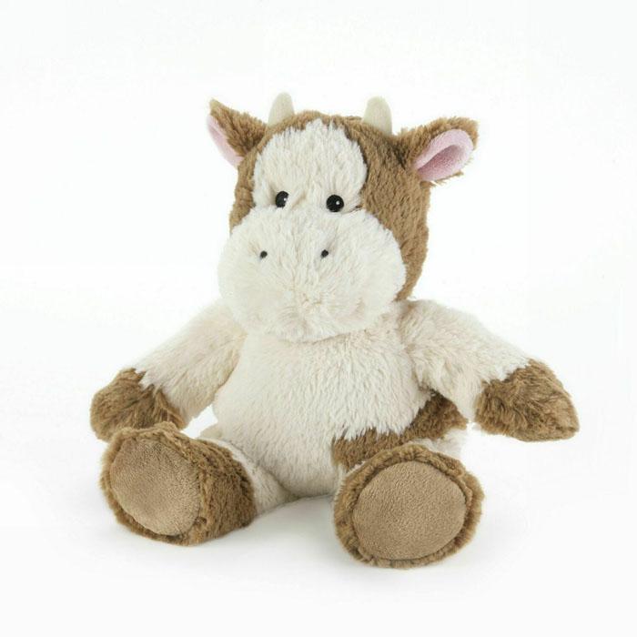 Warmies Мягкая игрушка-грелка Буренка цвет бежевыйCP-COW-2Мягкая игрушка-грелка Warmies Буренка, предназначенная для тепловых процедур, обязательно поднимет настроение своему обладателю. Грелка, выполненная из хлопка и полиэстера в виде симпатичной мягкой буренки, привлечет внимание не только ребенка, но и взрослого, и сделает процесс использования грелки приятным и комфортным. Игрушка полностью безопасна - состоит из натурального наполнителя: зерен проса и сушеной лаванды. Просо удерживает тепло долгое время, а лаванда обладает успокаивающим, расслабляющим эффектом, помогает заснуть. Лечебные свойства лаванды помогают при простудных заболеваниях. Положите игрушку на 1-2 минуты в микроволновую печь, и она будет греть вас на протяжении 3-4 часов. Оригинальный стиль и великолепное качество исполнения делают эту игрушку-грелку чудесным подарком к любому празднику. Не стирать - специальный шелковый мех легко очищается влажной тряпкой. Наполнитель: обработанные зерна проса, высушенная лаванда. ...