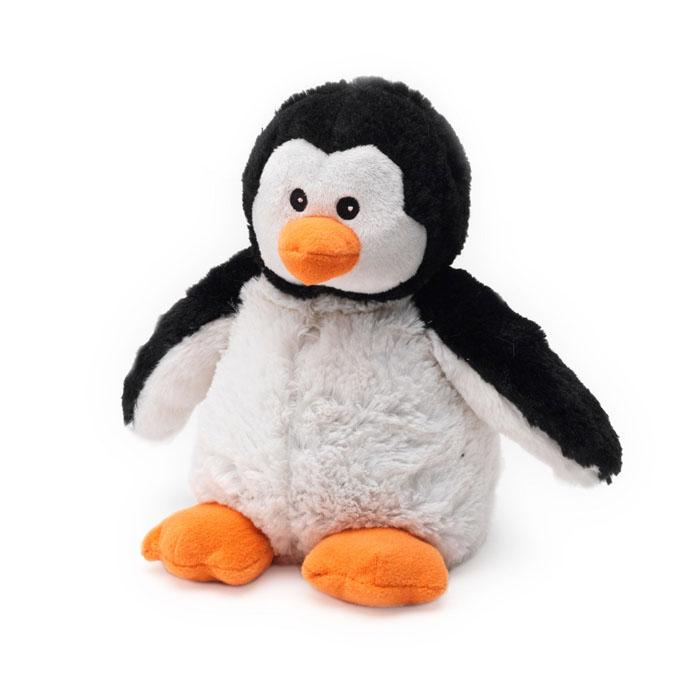 Warmies Мягкая игрушка-грелка ПингвинCP-PEN-2Мягкая игрушка-грелка Warmies Пингвин, предназначенная для тепловых процедур, обязательно поднимет настроение своему обладателю. Грелка, выполненная из хлопка и полиэстера в виде симпатичного мягкого пингвинчка, привлечет внимание не только ребенка, но и взрослого, и сделает процесс использования грелки приятным и комфортным. Игрушка полностью безопасна - состоит из натурального наполнителя: зерен проса и сушеной лаванды. Просо удерживает тепло долгое время, а лаванда обладает успокаивающим, расслабляющим эффектом, помогает заснуть. Лечебные свойства лаванды помогают при простудных заболеваниях. Положите игрушку на 1-2 минуты в микроволновую печь, и она будет греть вас на протяжении 3-4 часов. Оригинальный стиль и великолепное качество исполнения делают эту игрушку-грелку чудесным подарком к любому празднику. Не стирать - специальный шелковый мех легко очищается влажной тряпкой. Наполнитель: обработанные зерна проса, высушенная лаванда....