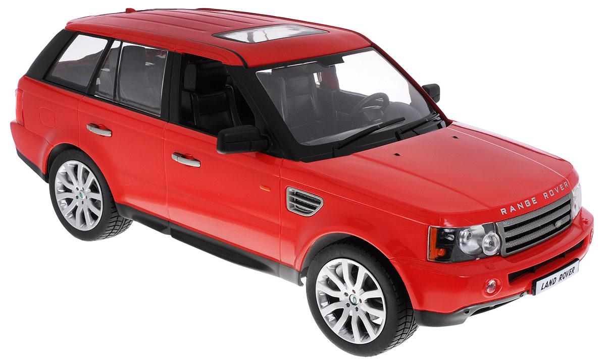 Rastar Радиоуправляемая модель Range Rover Sport цвет красный масштаб 1:1428200Радиоуправляемая модель Rastar Range Rover Sport станет отличным подарком любому мальчику! Все дети хотят иметь в наборе своих игрушек ослепительные, невероятные и крутые автомобили на радиоуправлении. Тем более, если это автомобиль известной марки с проработкой всех деталей, удивляющий приятным качеством и видом. Одной из таких моделей является автомобиль на радиоуправлении Rastar Range Rover Sport. Это точная копия настоящего авто в масштабе 1:14. Возможные движения: вперед, назад, вправо, влево, остановка. Имеются световые эффекты. Пульт управления работает на частоте 27 MHz. Для работы игрушки необходимы 5 батареек типа АА (не входят в комплект). Для работы пульта управления необходима 1 батарейка 9V типа Крона (не входит в комплект).