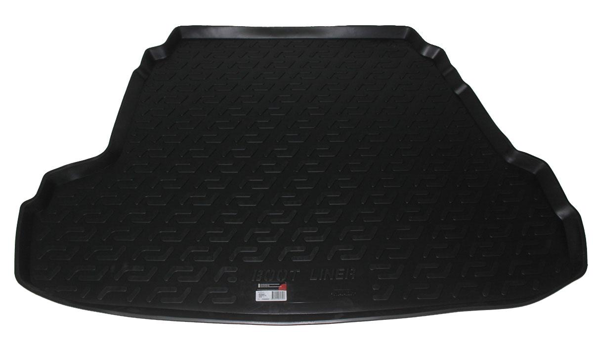Коврик в багажник L.Locker, для Hyundai Sonata i45 (10-)0104040201Коврик L.Locker производится индивидуально для каждой модели автомобиля из современного и экологически чистого материала. Изделие точно повторяют геометрию пола автомобиля, имеет высокий борт, обладает повышенной износоустойчивостью, антискользящими свойствами, лишен резкого запаха и сохраняет свои потребительские свойства в широком диапазоне температур (от -50°С до +80°С).