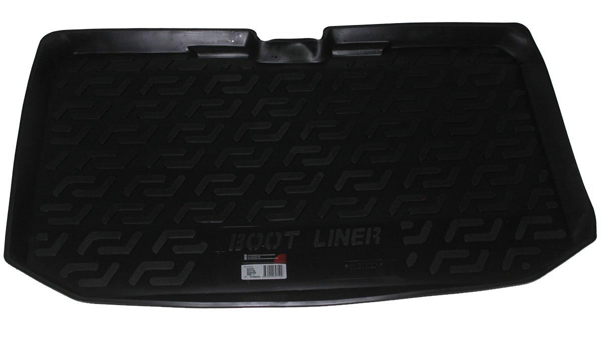 Коврик в багажник L.Locker, для Nissan Note hb (06-), нижний0105060201Коврик L.Locker производится индивидуально для каждой модели автомобиля из современного и экологически чистого материала. Изделие точно повторяют геометрию пола автомобиля, имеет высокий борт, обладает повышенной износоустойчивостью, антискользящими свойствами, лишен резкого запаха и сохраняет свои потребительские свойства в широком диапазоне температур (от -50°С до +80°С).