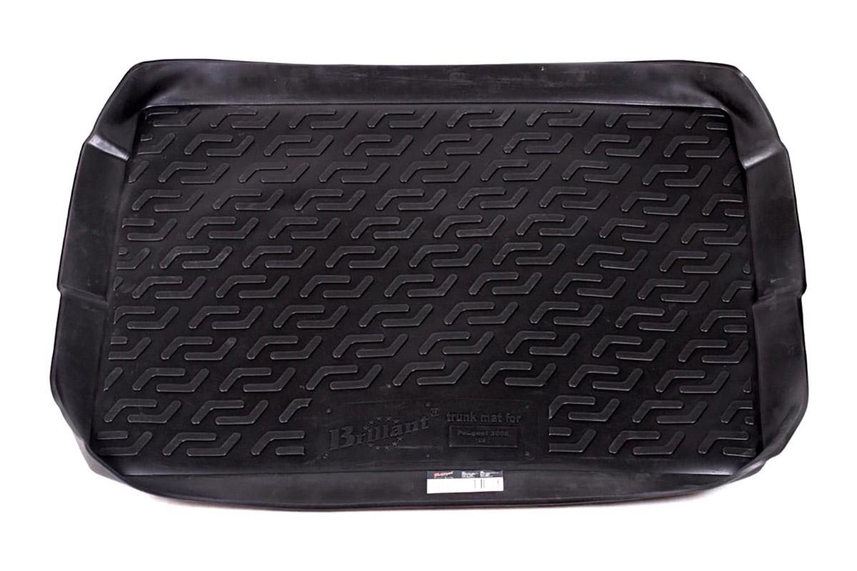 Коврик в багажник L.Locker, для Peugeot 3008 (09-)0120080201Коврик L.Locker производится индивидуально для каждой модели автомобиля из современного и экологически чистого материала. Изделие точно повторяют геометрию пола автомобиля, имеет высокий борт, обладает повышенной износоустойчивостью, антискользящими свойствами, лишен резкого запаха и сохраняет свои потребительские свойства в широком диапазоне температур (от -50°С до +80°С).